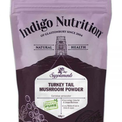 Indigo Turkey Tail Mushroom Powder